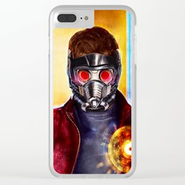 star-lord Clear iPhone Case