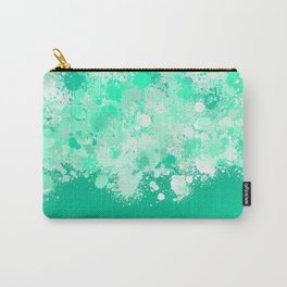 paint splatter on gradient pattern magi Carry-All Pouch