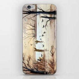Setting The Decoys II iPhone Skin