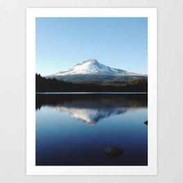 Mt. Hood at Trillium Lake Art Print