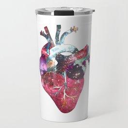 Superstar Heart (on white) Travel Mug