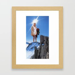 And Lo, I Forgot What I Came Up Here For Framed Art Print