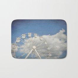 Antique Ferris Wheel Bath Mat