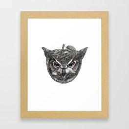 Owl Be Watching Framed Art Print