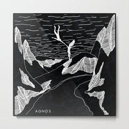 AGNO3 Leap Metal Print