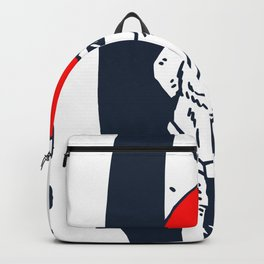 Dog Surf for people who like cool chill designs  Backpack