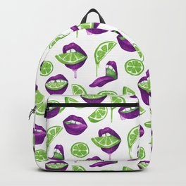 Don't Kill My Vibe (Lime) Backpack