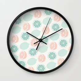 Cute Lemonade Wall Clock