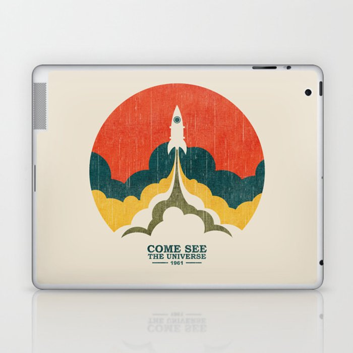 Come See The Universe Laptop & iPad Skin