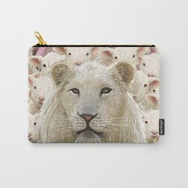 Lambs led by a lion Carry-All Pouch