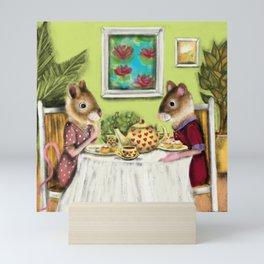 Tea and Scones Mini Art Print