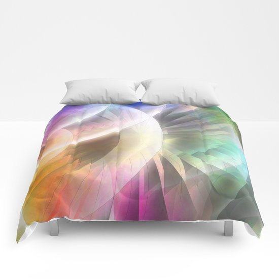 Multicolored abstract no. 60 Comforters