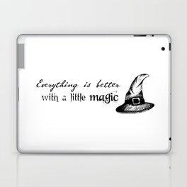 Just a little magic Laptop & iPad Skin
