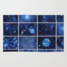 A quick view of the universe Rug
