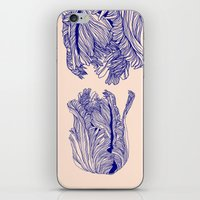 tulip iPhone & iPod Skins featuring Dark tulip by Annike