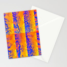 PSYCHEDELIC TENSION Stationery Cards