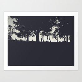 The Horizon Art Print