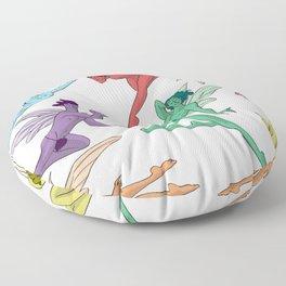 Fairies Floor Pillow