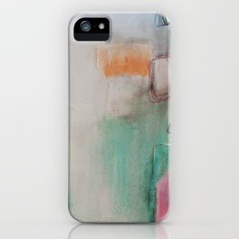 white space.  iPhone Case