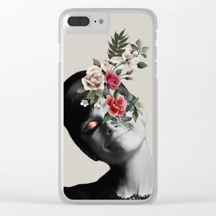 AUDREY HEPBURN 5 Clear iPhone Case