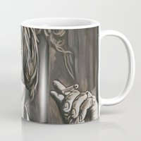 phil jones Mugs featuring Jones by Buddy Owens Paintings