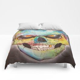 Mr. skull himself Comforters