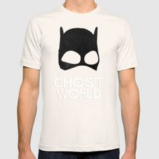 Ghost World SMALL Natural Mens Fitted Tee