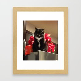 Milton Framed Art Print