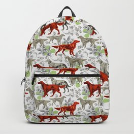 IRISH SETTERS & GREEN CLOVER Backpack
