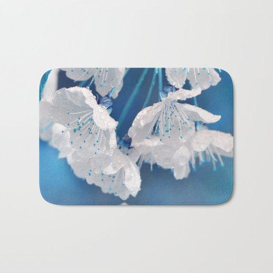 Spring blue 233 Bath Mat