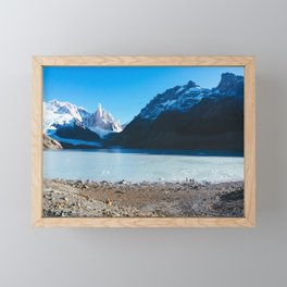 Laguna Torre, Patagonia, Argentina Framed Mini Art Print