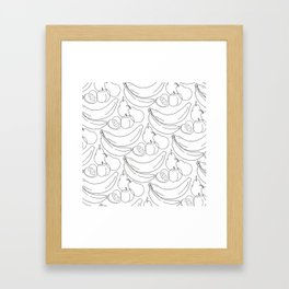 See what you want. Framed Art Print