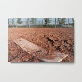 Bases Loaded Metal Print