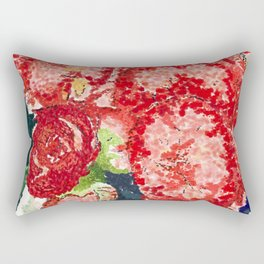 Begonias Rectangular Pillow