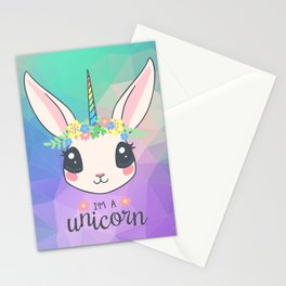 Always Be a Unicorn Stationery Cards