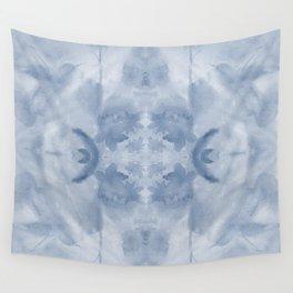 Hummingbird Selah - Blue Quad Wall Tapestry