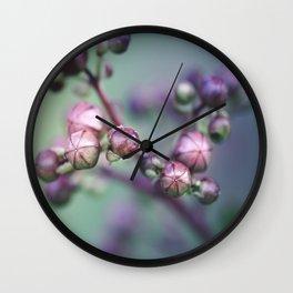 Summer Lapse Wall Clock