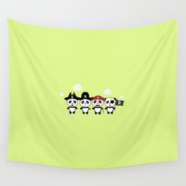 Panda Pirates Crew T-Shirt for all Ages Dt4v1 Wall Tapestry