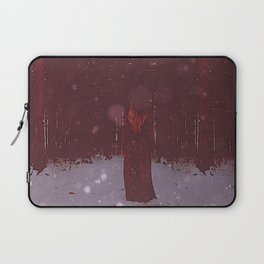 the Woman in Red Laptop Sleeve