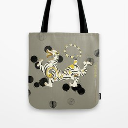 White Tiger of the West Tote Bag