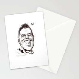 caricature JP s Stationery Cards
