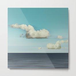 Strange Clouds Metal Print