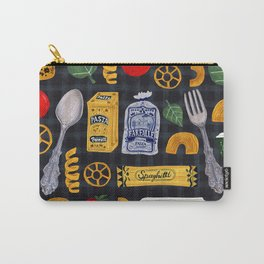 Vintage macaroni pattern Carry-All Pouch