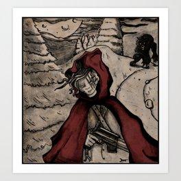Le Petit Chaperon Rouge Art Print