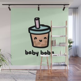 Baby Boba Wall Mural