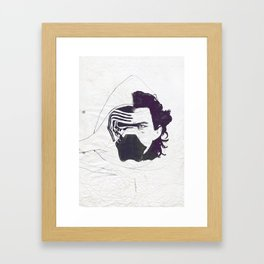 Ben Solo Awakened Framed Art Print