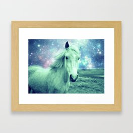 Celestial Dreams Horse Framed Art Print