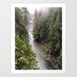 Vancouver 3 Art Print