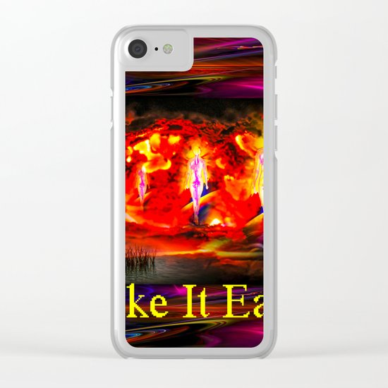 Heavenly apparition  - Take It Easy Clear iPhone Case