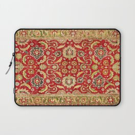 Isphahan Antique Central Persian Rug Print Laptop Sleeve